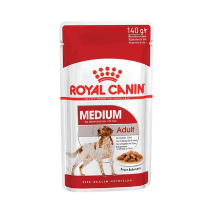 Picture of Royal Canin Medium adult pouch 10 հատ x 140գ