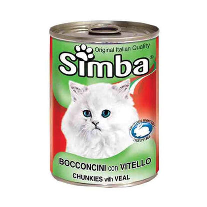 Picture of Simba հորթի մսով պահածո կատուների համար (415 գ)