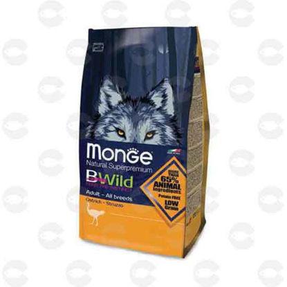 Picture of Կեր շների Monge Bwild Ostrich - ջայլամ 15 կգ
