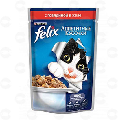 Picture of «Purina Felix» տավարի մսով