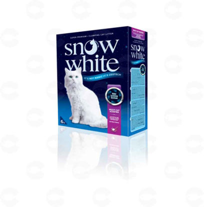Picture of Snow White Multi Cat Scented 12lt