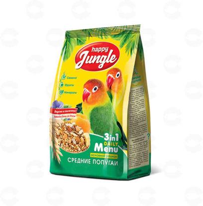 Picture of «Happy Jungle» կեր միջին թութակների համար