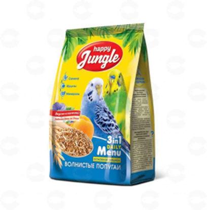 Picture of «Happy Jungle» կեր ալիքավոր թութակների համար