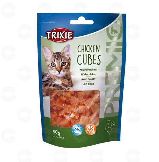 Picture of «PREMIO Chicken Cubes» կատուների համար