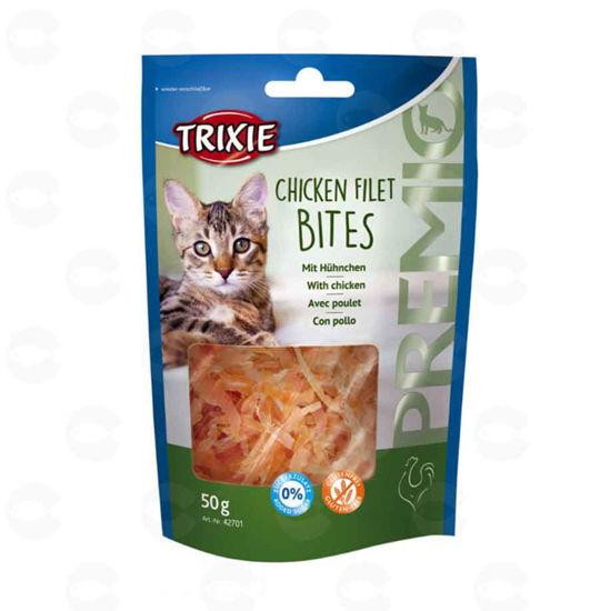 Picture of «PREMIO Chicken Filet Bites» կատուների համար