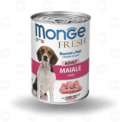 Picture of Պահածո շների համար Monge FRESH խոզ