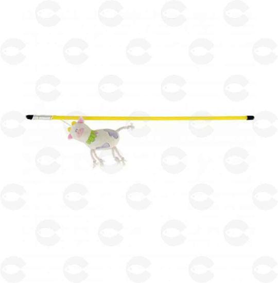 Picture of Խաղալիք կատուների կարթ փափուկ կովիկով