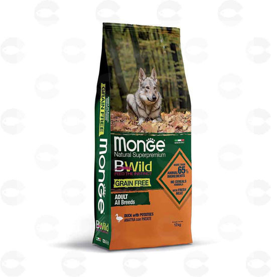 Picture of Կեր շների համար Bwild Grain Free, բադ/կարտոֆիլ  (կիլոգրամով)