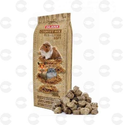 Picture of Dajana Country mix Eco-litter soft՝ լցանյութ կրծողների համար․ գրանուլա 2 կգ